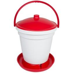 Automatische drinkbak 18 liter emmer model ZONDER potenset