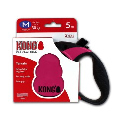 Kong Retractable Leash Terrain Pink Medium 5m (30 kg)