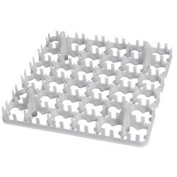 Eier tray for 36 kippeneieren afm. 287x287mm, max. eimaat 47mm