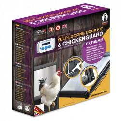 Chicken Guard  Extreme Combi Pakket met zelfsluitende deur
