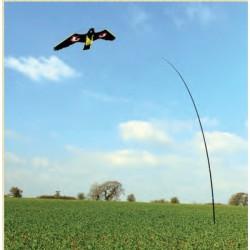 Vogelverjager compleet 7m paal