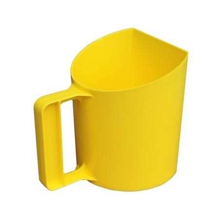 Voerschep bakmodel geel 1kg