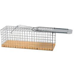 Rattenvangkooi met houten bodem (levendvang)