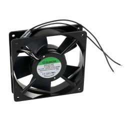 Sunon ventilator 120x120x25 mm incl. rooster en aansl.kabels