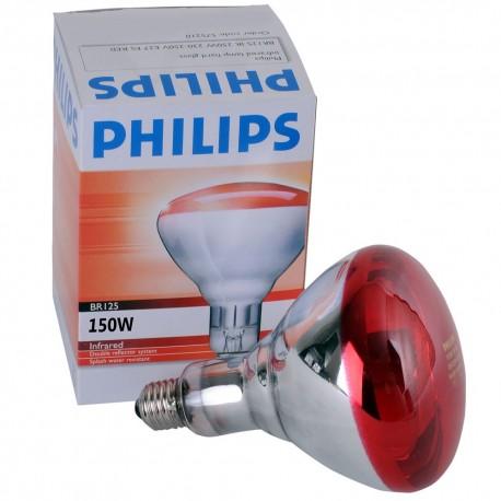 Philips Infrarood warmtelamp 150 Watt softglass