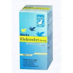 Elektrolyt flussig (Vloeibare electrolyten, vasthouden vocht)