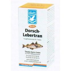 Lebertran dorsch (Levertraan, weerstand, natuurlijke Bron van Vit. A en D)