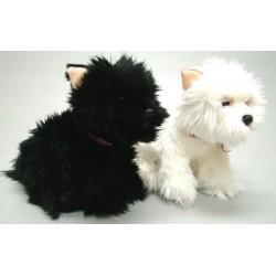 Westie en Scottie knuffel 25 cm