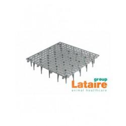 Vloerrooster plastiek 50 x 50 x 8cm