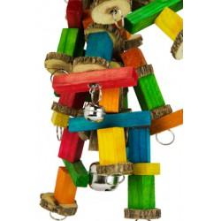 Birdeeez Jumbo Macaw sekelbos & Chain