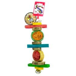 Birdeeez Parrot Loofah Toy
