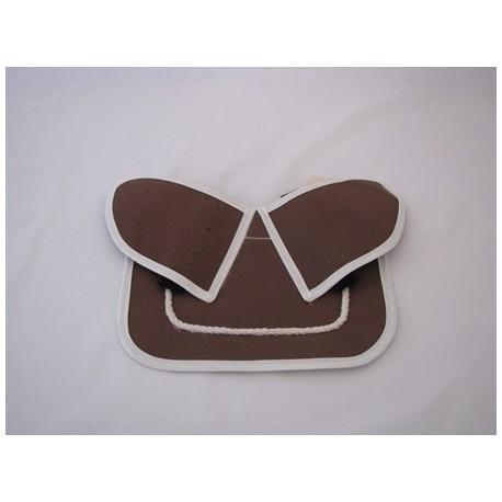 Kippenzadel vlindermodel maat XL