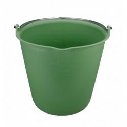 Emmer 15 liter met schenktuit Groen
