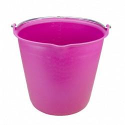 Emmer 15 liter met schenktuit Roze