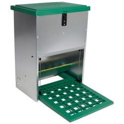 Feedomatic automatische verboek (trapbak) cap. 12kg, verzinkt