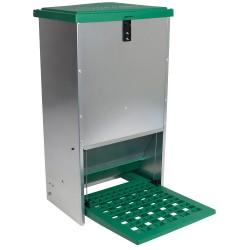 Feedomatic automatische verboek (trapbak) cap. 20kg, verzinkt