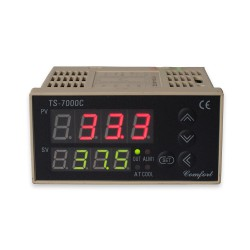 Digitale PID regelaar / PT-100 sensor/ Triac + SSR uitg./ koelfunctie*