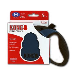 Kong Retractable Leash Terrain Blue Medium 5m (30 kg)