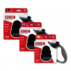 Kong Retractable Leash Terrain Black Small 5m (20 kg)