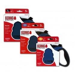 Kong Retractable Leash Terrain Blue Small 5m (20 kg)
