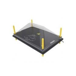 Afdekkap voor Warmteplaat 40x60cm, PET helder