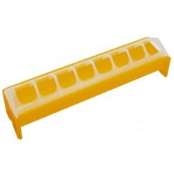 Kuikeneetbak geel plastiek 30cm Novital