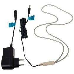 Verwarmingskabel 10Watt/24VDC met adapter