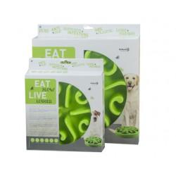 Eat Slow Live Longer Round large groen