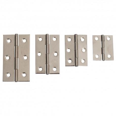 Scharnier verzinkt 37mm 2x2 gaten