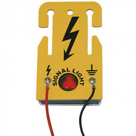 """Afrasteringslampje """"power blinker"""""""
