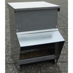 Metalen voerhopper 8kg