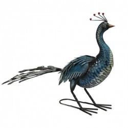 Blue metal Peacock Primus