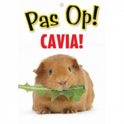 Waakbord PVC Cavia