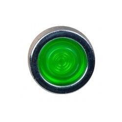 Indicatielampje ø20mm LED groen, voor gat ø10mm, incl. 18cm kabel