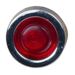 Indicatielampje ø20mm LED rood, voor gat ø10mm, incl. 18cm kabel