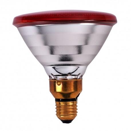 Warmtelamp Powerheat, infra rood, 100Watt, 240V,  PAR38, E-27