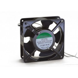 Sunon ventilator 120x120x38 mm incl. rooster en aansl.kabels