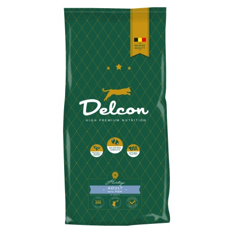 Delcon Cat Adult Fish 8,75kg