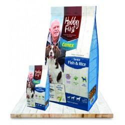 Canex Premium Senior Fish & Rice 12kg - ACTIE NU 10 Euro KORTING