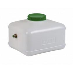 10L Tank voor drinksysteem met 10mm uitgang met vlotter