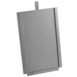 Kaarthouder verzinkt voor kaart max. 170x110mm