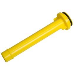 Onderdeel: plastic uitloop geel (onder) voor DS30M