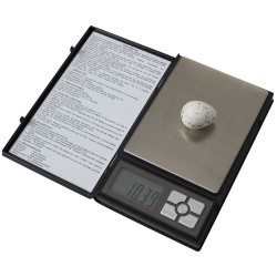 Digitale weegschaal, 0.01 gram, compact, zwart kunststof, kwaliteit!