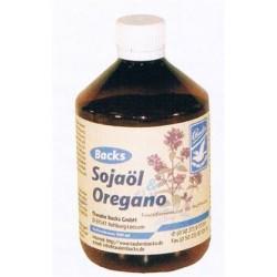 Sojaöl + oregano (Sojaolie met oregano, optimaliseert de darmgezondheid)