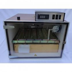 MS Broedmachine 48 eieren volautomaat met plexiglas deur en digitale vochtuitlezing