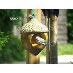 Vogelpindakaashouder Eikel 20cm