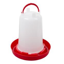 Bajonetdrinker 1,5L (PP) rood NIEUW