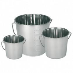 Emmer RVS 5,7 liter