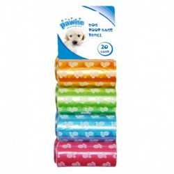 Poop Bags refill 8pack (20 pcs/roll)