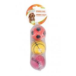 Sponge Ball 6 cm 3-pack